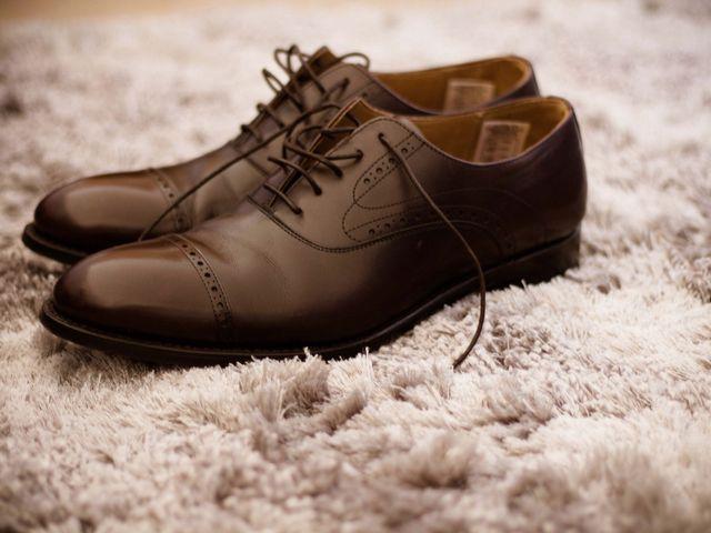 Estilos de zapatos para el novio