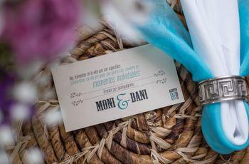 Tarjetas de agradecimiento: sorprende a los invitados de tu matrimonio