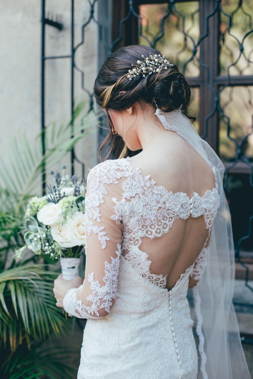 Bonito y sencillo peinados novia recogidos bajos Galería De Tutoriales De Color De Pelo - 25 peinados recogidos bajos para novias