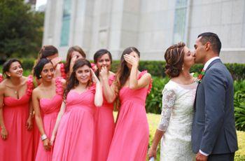 Ideas para tener las fotos de matrimonio más divertidas ¡Inspírate!