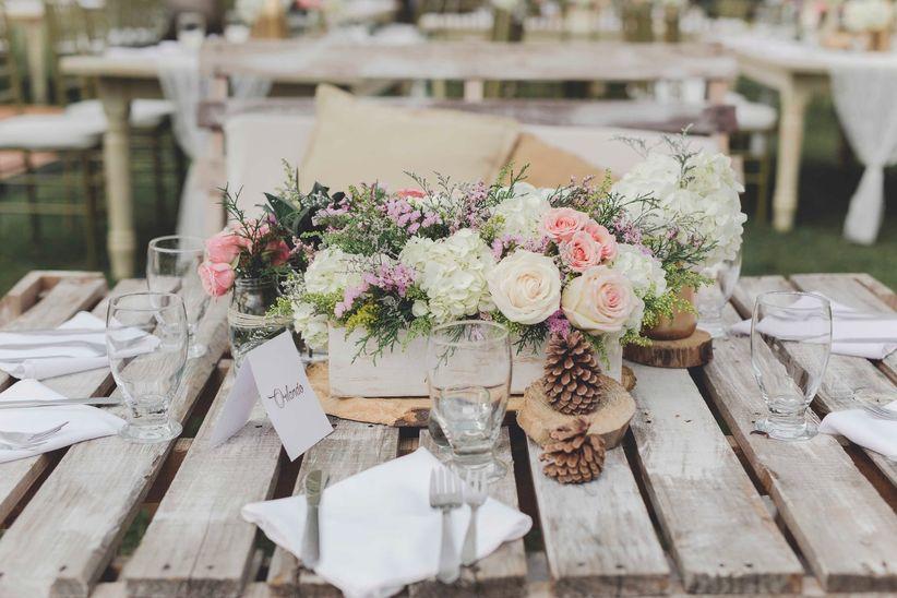 Decoración Para Matrimonio Campestre Déjense Cautivar Por
