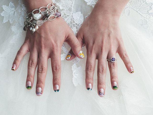 9 ideas para tu manicura de novia