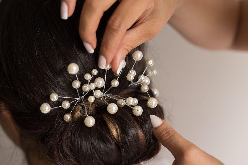 Complementos peinado novia
