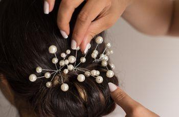 ¿Pensando en los accesorios para tu peinado de novia?