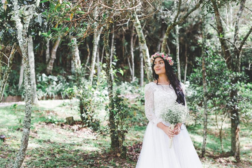 Como elegir accesorios para vestido de novia