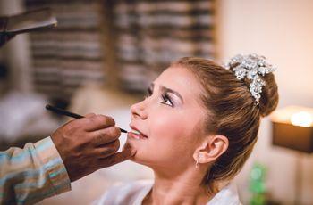 Consigue un maquillaje de novia ideal con estos tips