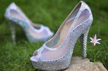 brillos o flores en tus zapatos del gd?