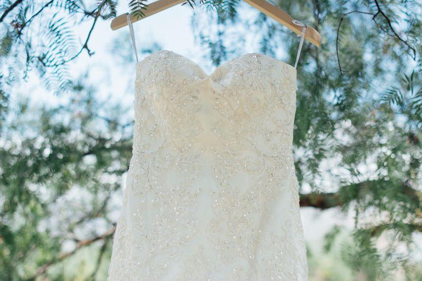 Jabon para lavar vestido de novia