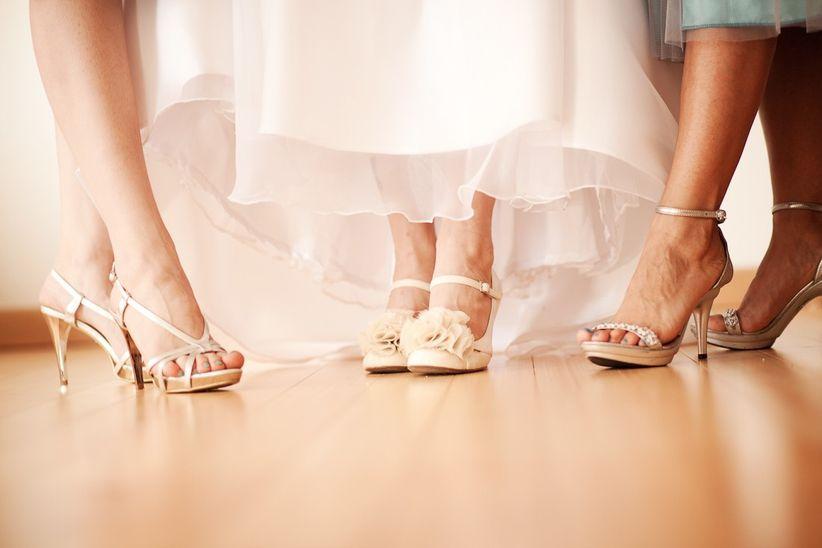 50 zapatos de fiesta para las damas de honor