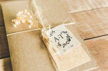 9 ideas de diseño para los sobres de las invitaciones