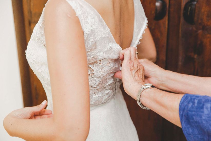 Primera prueba vestido novia