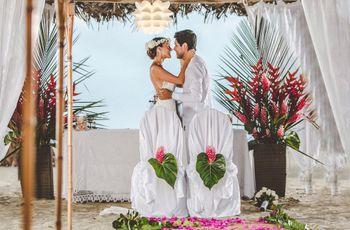 Matrimonio en la playa: 10 increíbles trucos para sacarle el máximo provecho