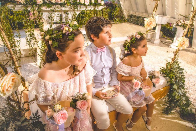 1ecf3bc77479 Pajecitos y damitas del matrimonio  cuántos