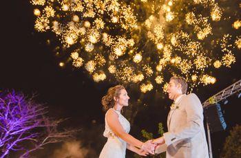 Celebra tu matrimonio con fuegos artificiales