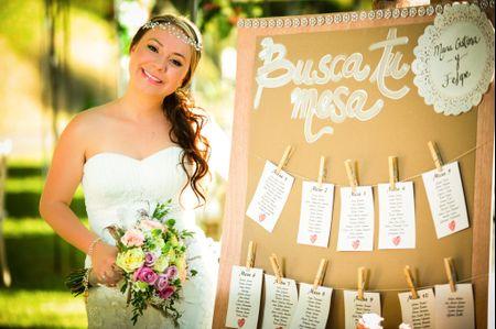 Seating plan: 10 magníficas ideas de decoración para boda