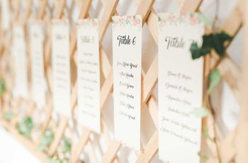 Test: ¿Qué seating plan podría ir con tu boda?