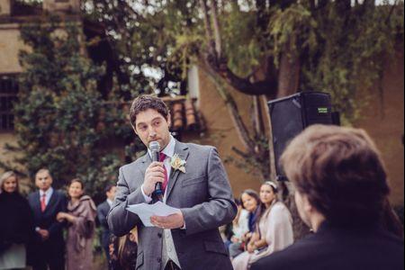 ¿Cómo preparar el discurso para la pareja si no te gusta hablar en público?