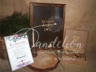 Dandelion Invitaciones y Recuerdos 3