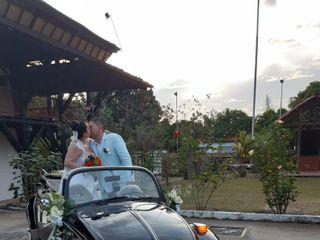 Lorenzo & Jerónimo VW Wedding Car 2