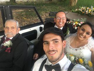 Lorenzo & Jerónimo VW Wedding Car 1