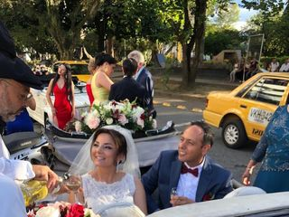 Lorenzo & Jerónimo VW Wedding Car 4