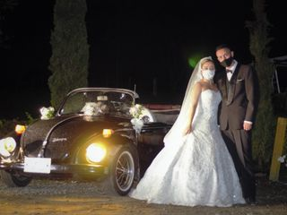 Lorenzo & Jerónimo VW Wedding Car 2