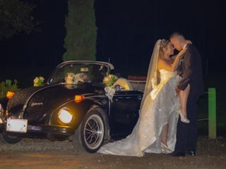 Lorenzo & Jerónimo VW Wedding Car 3