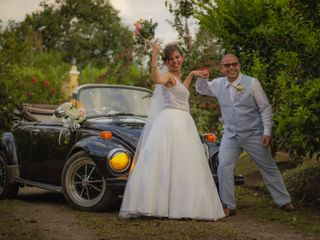Lorenzo & Jerónimo VW Wedding Car 4