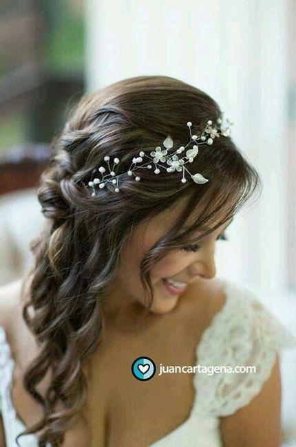 10 + 1 semirecogidos para tu peinado de novia - 3