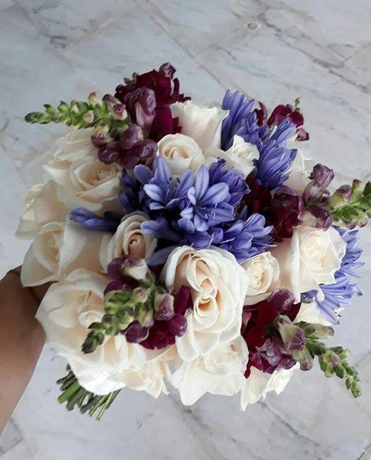 ¿Cómo quieren su bouquet de novia? 13