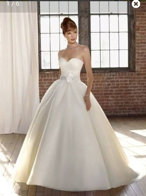 vestido de novia wish