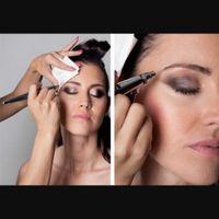 Maquillaje con aerografo - 1