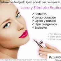 Maquillaje con aerografo - 3