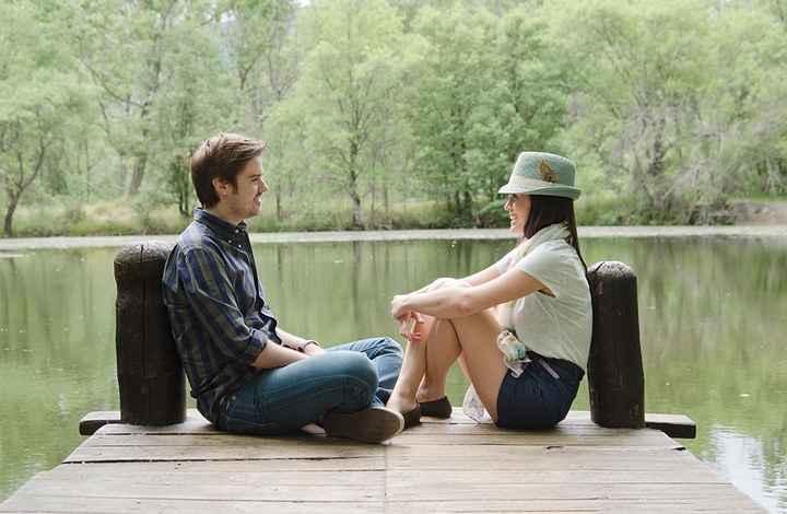 3. Junto al lago