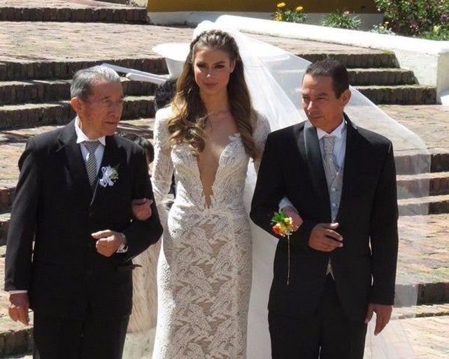 191be447b 5 mejores vestidos de novias de famosas Colombianas