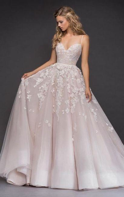 2. Vestido de novia sin mangas