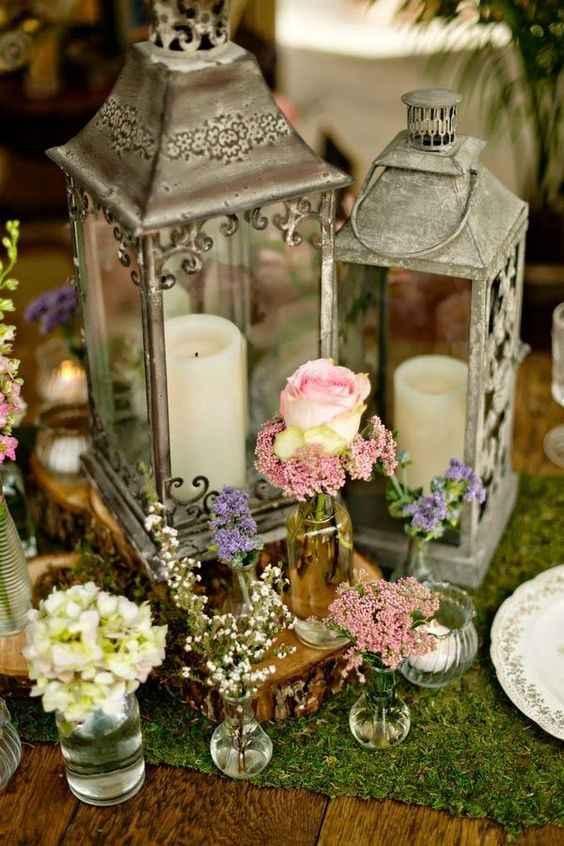 2. Decoración boda vintage