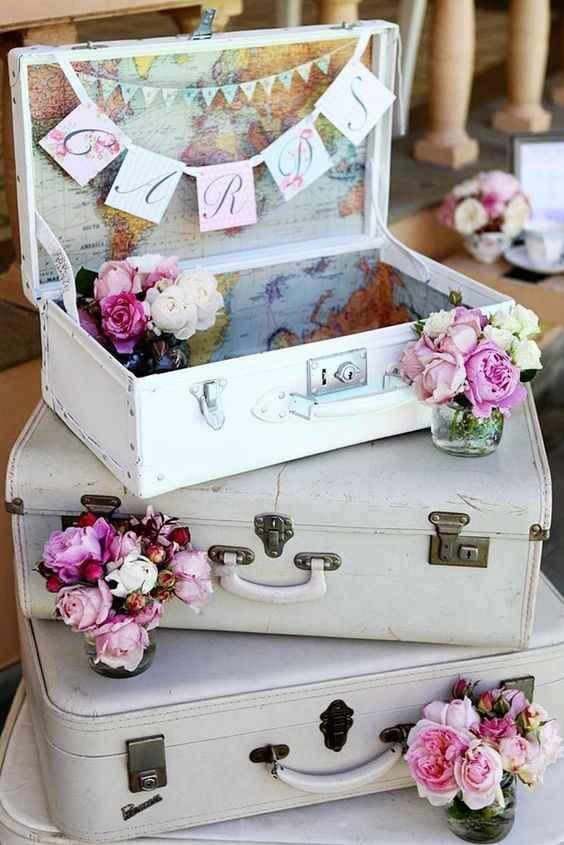 4.Decoración boda vintage