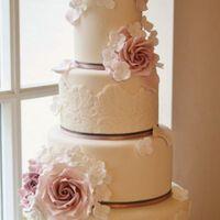 1. Torta de matrimonio redonda