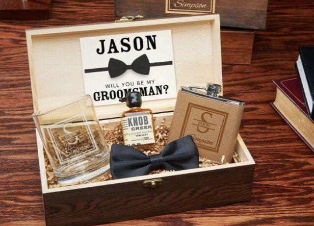 Invitaciones para Groomsman (caballeros de Honor) 3