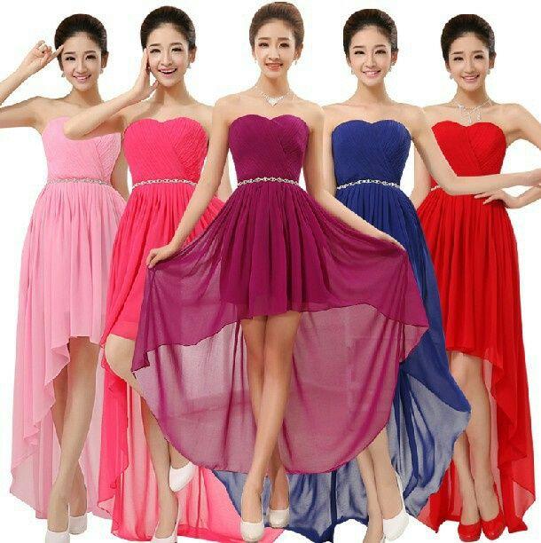 Estilo Vestidos Damas De Honor Corto