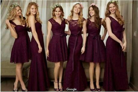 Estilo vestidos damas de honor corto - 9 f983085d950a
