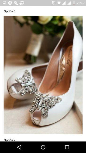 Zapato blancos: 3 estilos + 18 opciones - 2