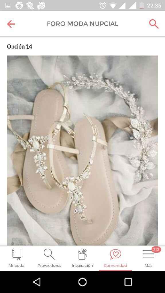 Zapato blancos: 3 estilos + 18 opciones - 1