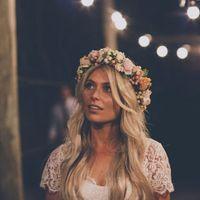 Suelto corona de flores