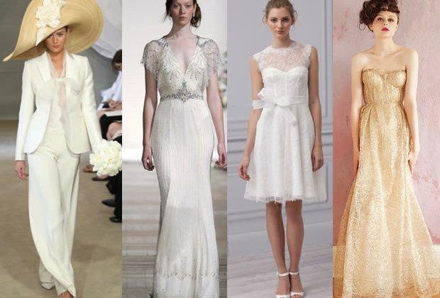 Vestidos blancos para boda por el civil