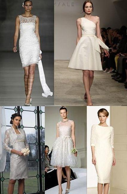 moda en vestidos para boda civil