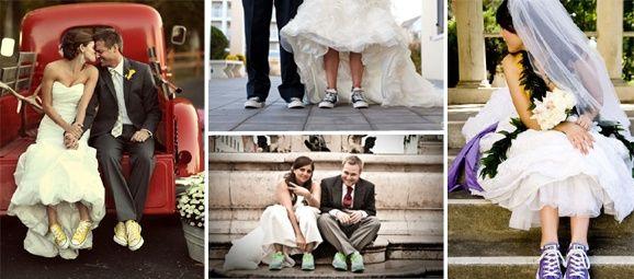 rompiendo esquemas: novias con tenis - página 2