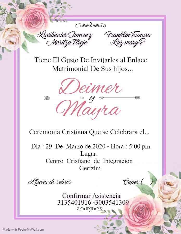 Invitaciones !!!! - 1