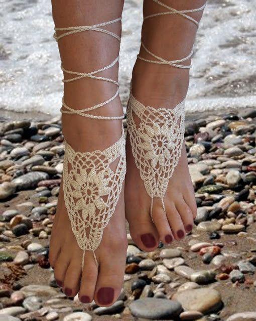 Calzado Para Bodas En La Playa